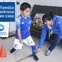 ¡La Familia Azul entrena desde casa!